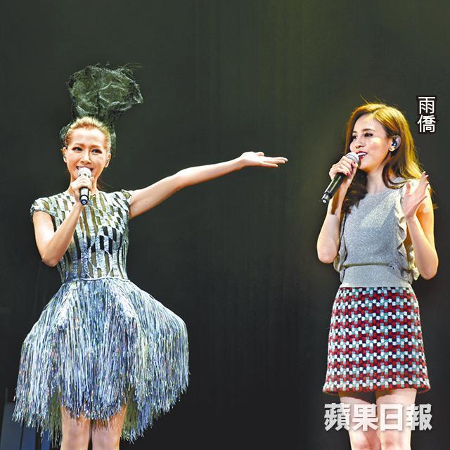 ■ 去年11月完成澳門個唱後,Jade(左)以just for fun心態終與老公造人成功。資料圖片