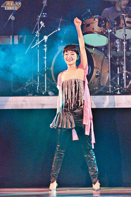 完成演唱會後,關心妍更有信心衝擊「天后」。(資料圖片)