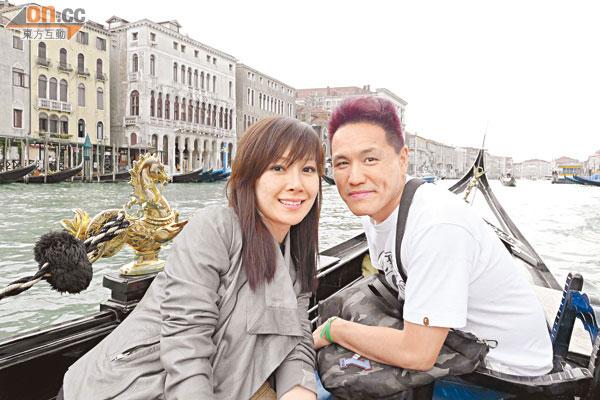關心妍與楊長智結婚三年,一直講個「信」字,感情自然如膠似漆。