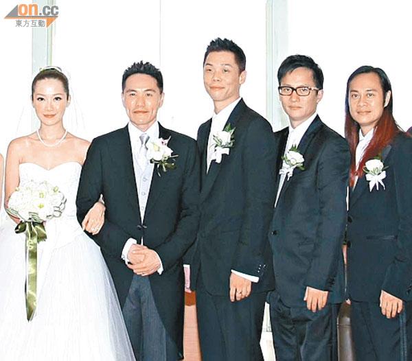 關心妍靠蔡一智(右)撮合婚姻,他還幫手做兄弟。