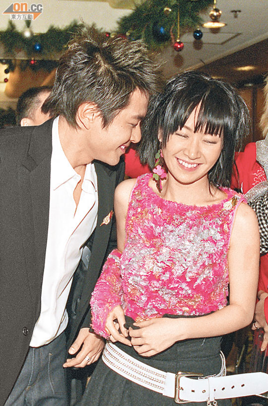 關心妍與蕭正楠當年被打造成「情侶檔」,傳緋聞是意料中事。