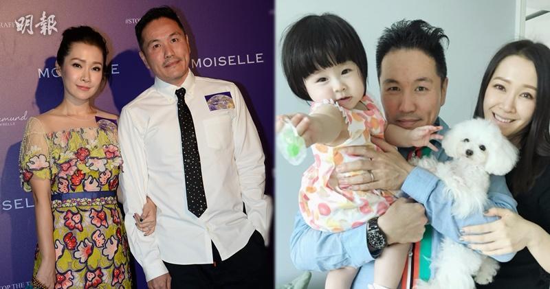 關心妍大爆老公是嚴父,對囡囡Jovia甚為緊張。(攝影:劉永銳/網上圖片)