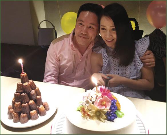 丈夫楊長智非常支持Jade,會在法律和會計上給太太意見。