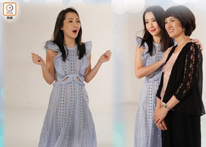 Jade同馬小靈一齊拍MV。