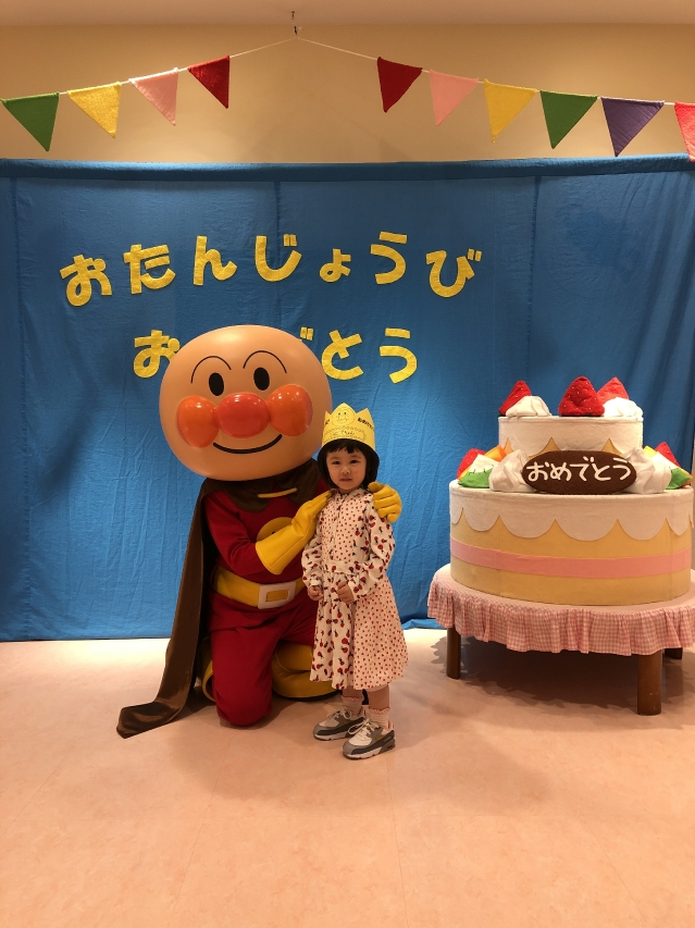 這次是心心第二次到福岡的麵包超人博物館。