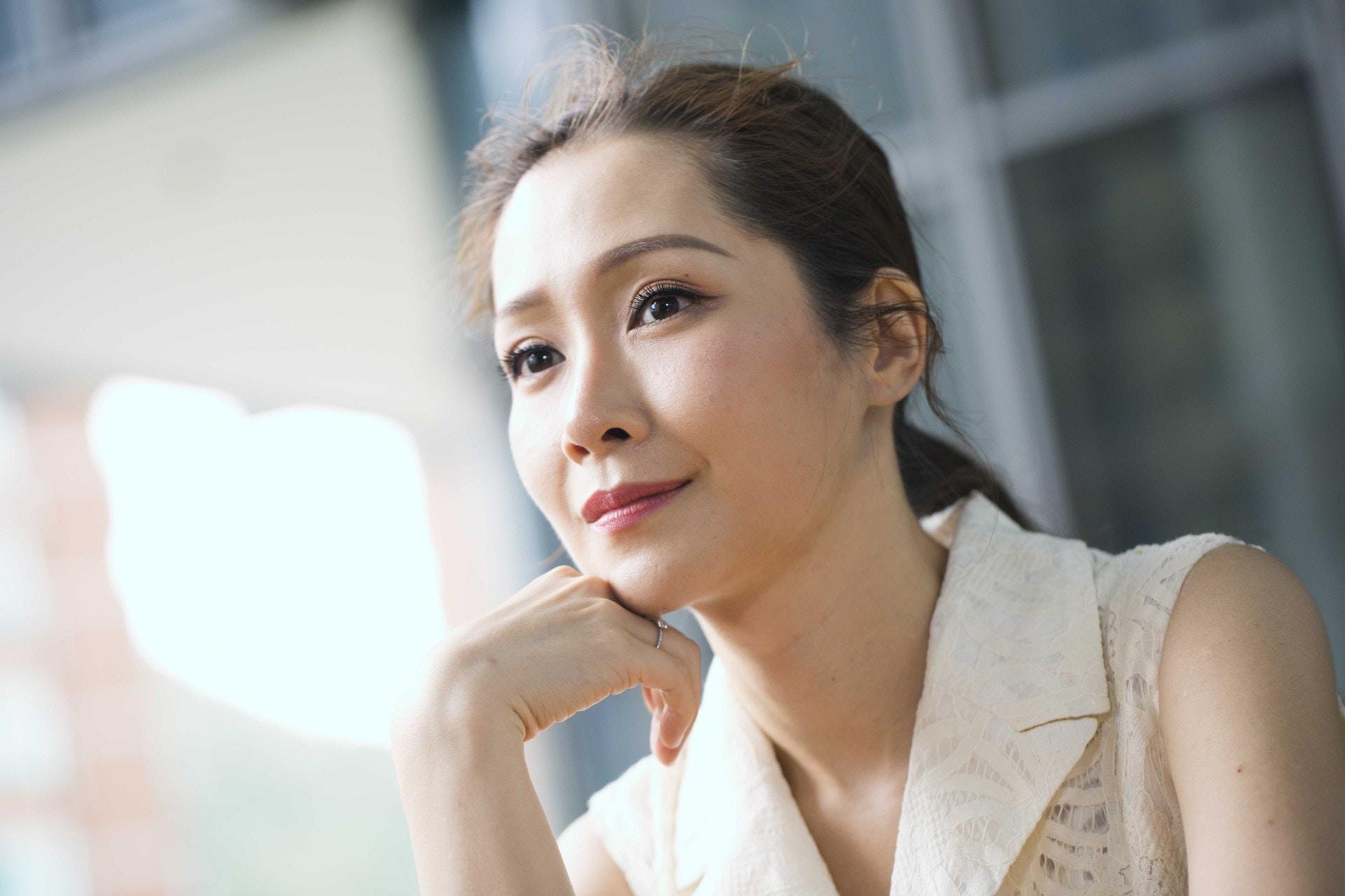 關心妍近年成立「Shining Life Music音樂治療學院」,在香港推動音樂治療。(黃寶瑩攝)