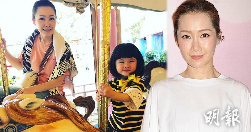 關心妍見就快3歲的女兒變得懂事,她非常感動。(關心妍Instagram圖片 / 孫華中攝 / 明報製圖)