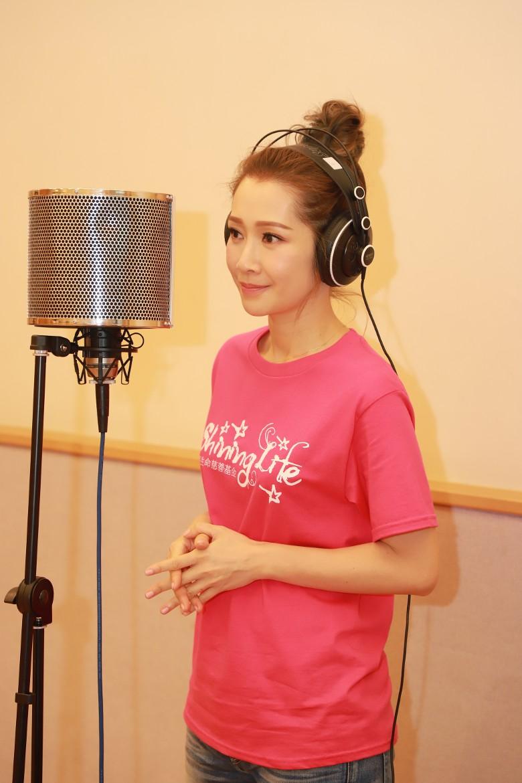 關心妍希望小朋友透過歌曲學識感謝身邊人。