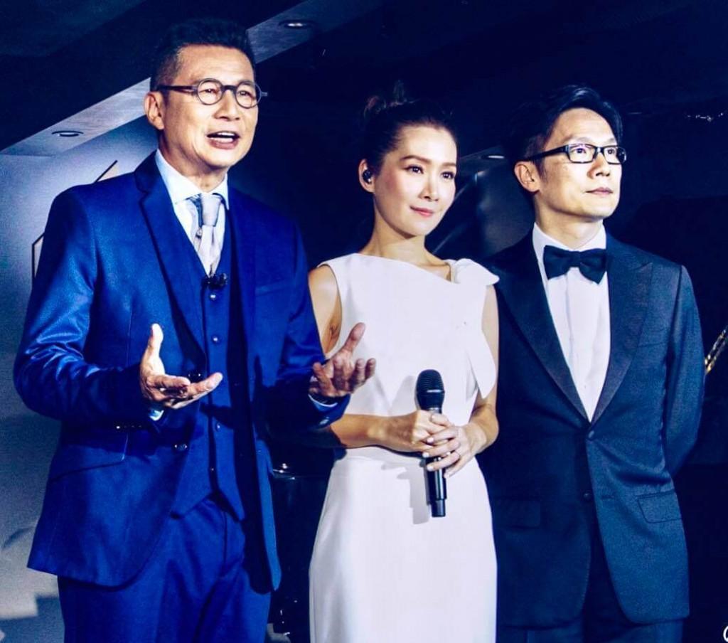 2020年10月9日 明周娛樂 首次合作 關心妍偕趙增熹鄭子誠辦網上騷b