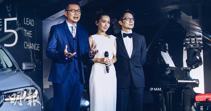 Image 1 of 2 - 鄭子誠、關心妍、趙增熹合作演出的網上音樂會《THE new 5 Music Lounge》將於10月15日晚上播出。(大會提供)