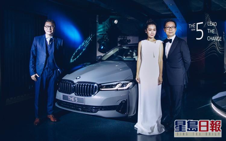 鄭子誠、關心妍和趙增熹首次同台合作。